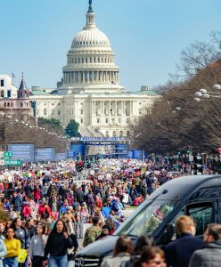 March for Our Lives march in Washington DC (Photo by Ted Eytan; Wikimedia)