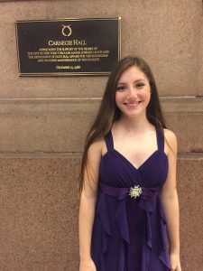 Jessica Russo at Carnegie Hall