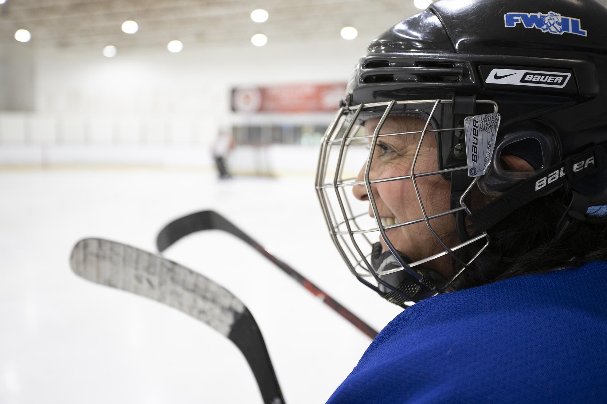 Karen Ota O Brien Leads The Florida Women S Hockey League