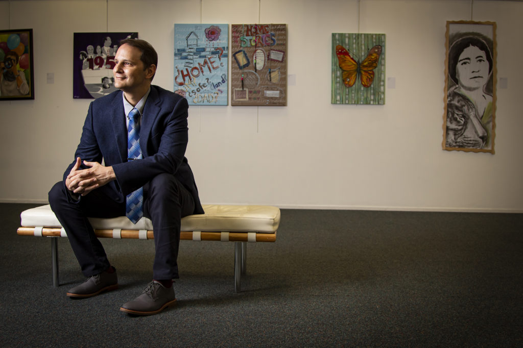 Craig Johnson executive director of ArtServe