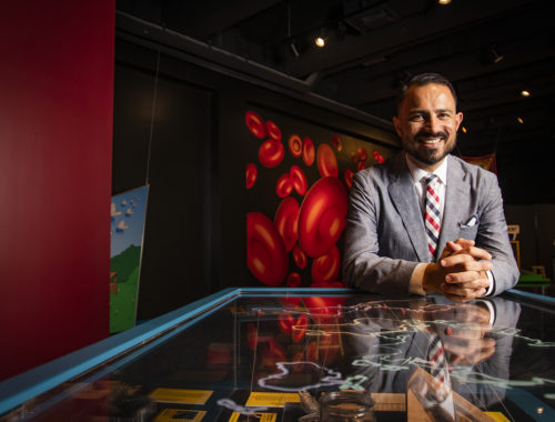Joe Cox, president and CEO of the Museum of Discovery and Science
