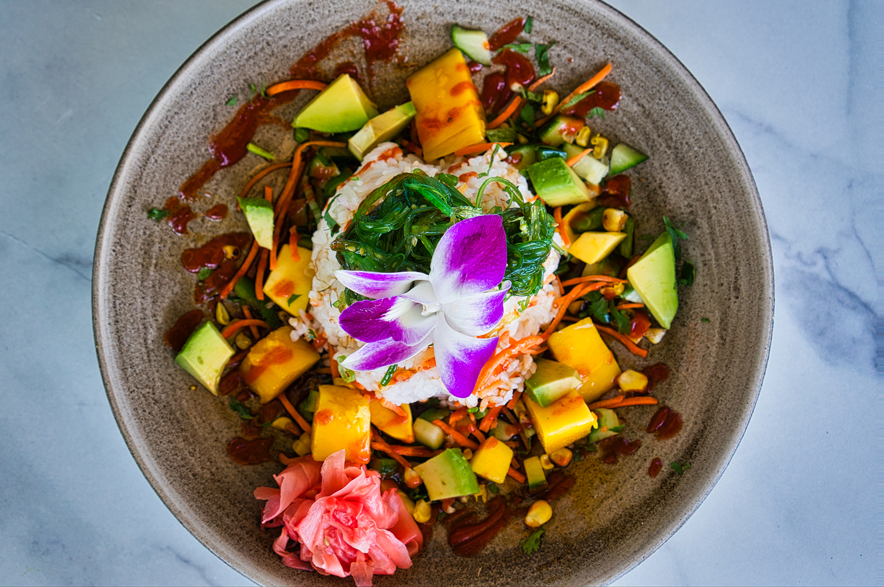 Beach House Pompano Poke Bowl