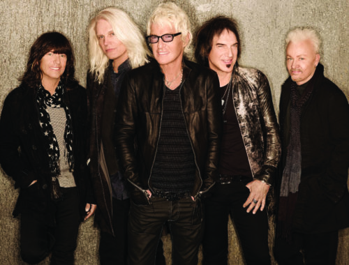 Kevin Cronin (middle) and REO