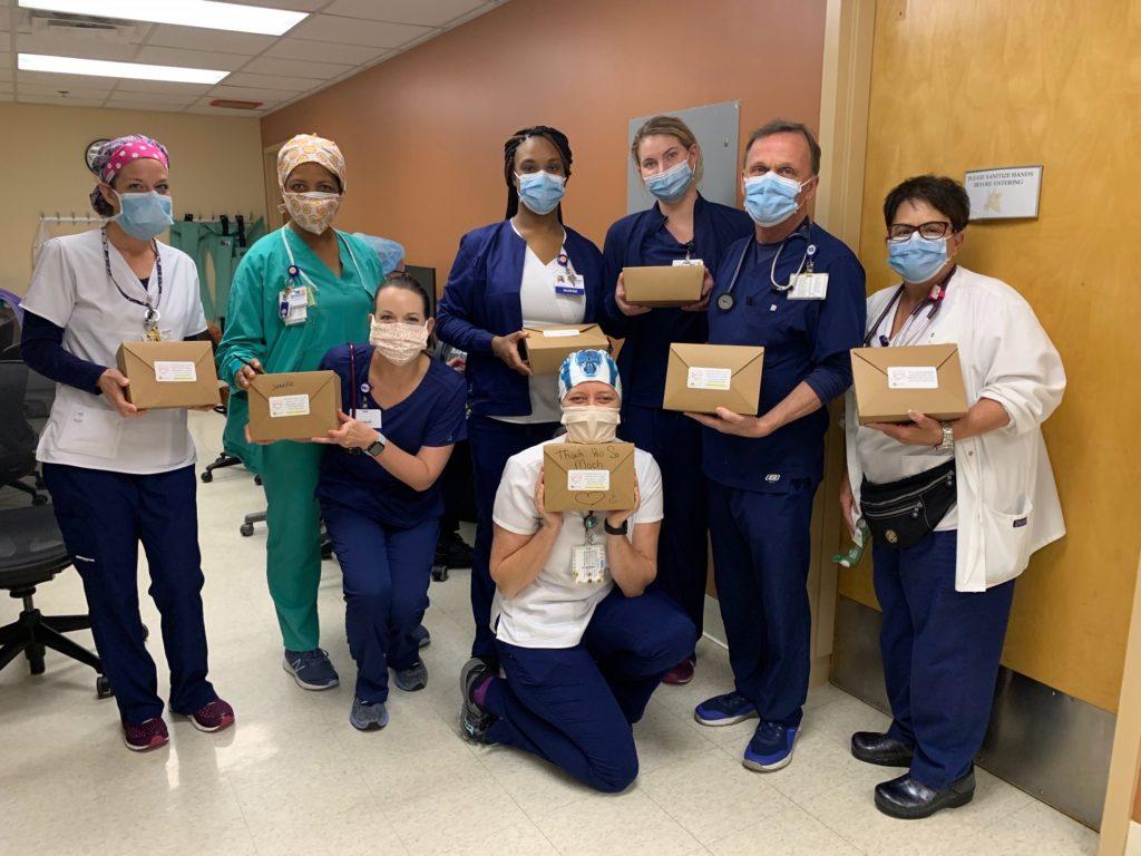 Medical staff at Memorial Regional