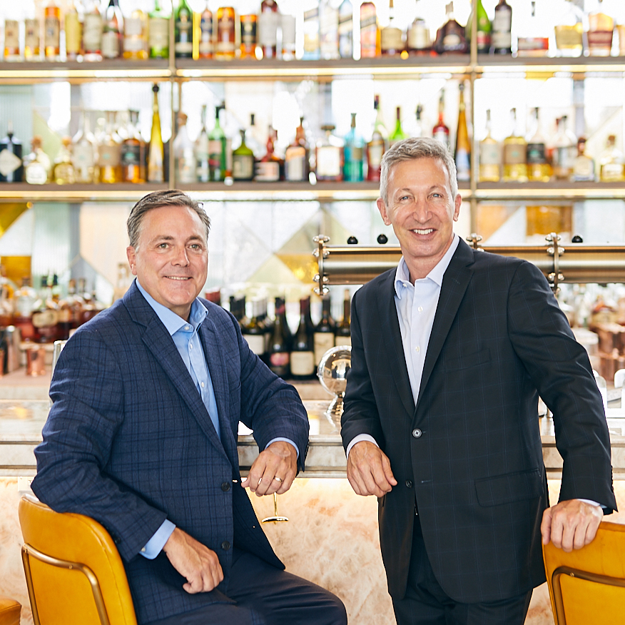 Mark Gilman and Peter Barkin