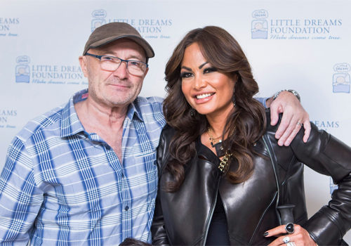 Phil and Orianne Collins