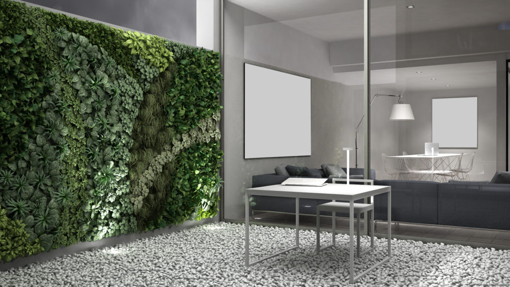Living wall from Broward Landscape