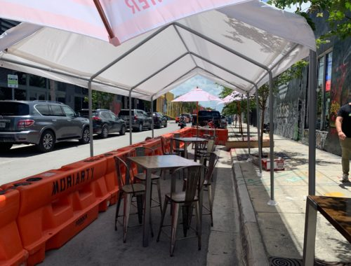 KYU Wynwood outdoor seating