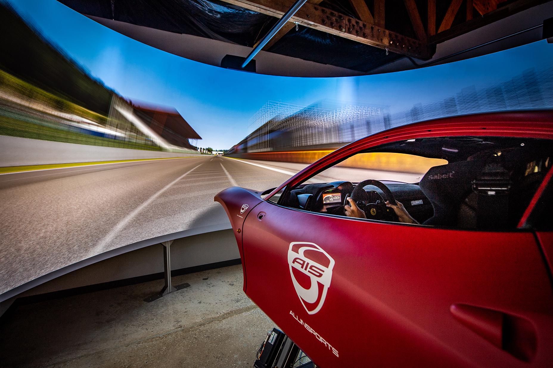 Allinsports (AIS) racing simulator
