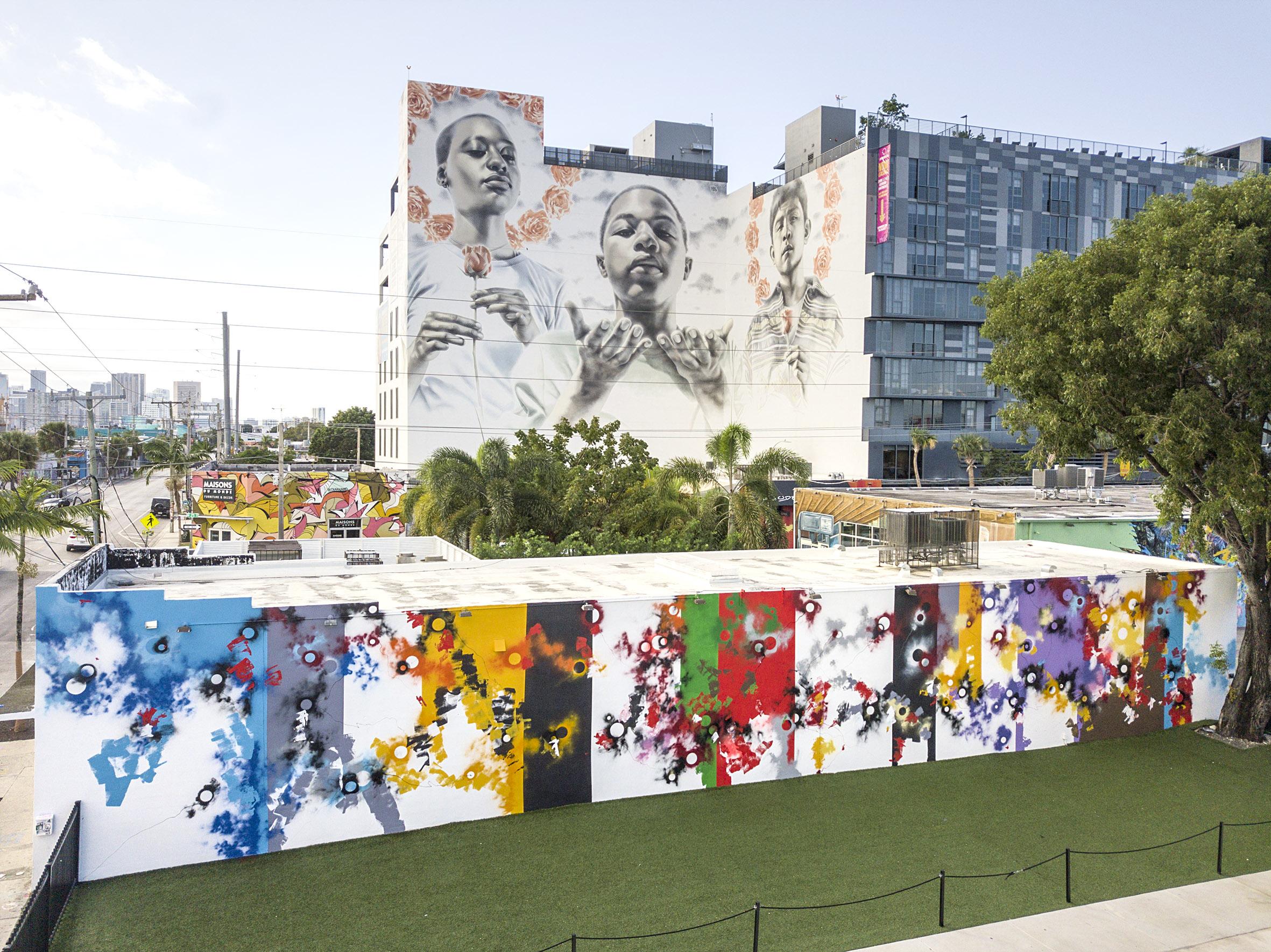 Wynwood walls painting Miami