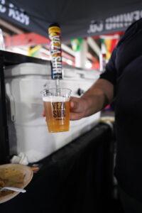 beer pour veza sur